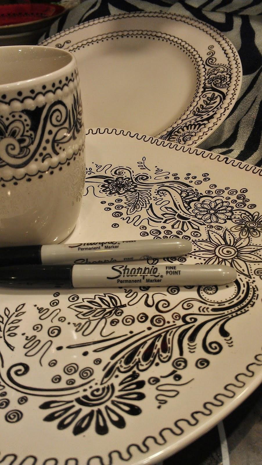 Shaprie fixky na porcelan.
