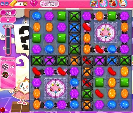 Candy Crush Saga 654