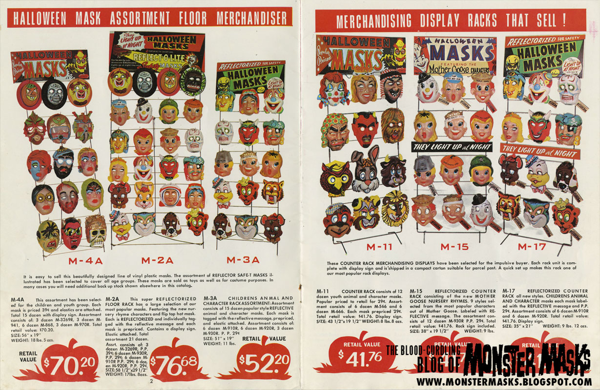 the 1970 band star halloween catalog has one of the coolest catalog covers ever posted here on the blood curdling blog of monster masks - Halloween Catalog