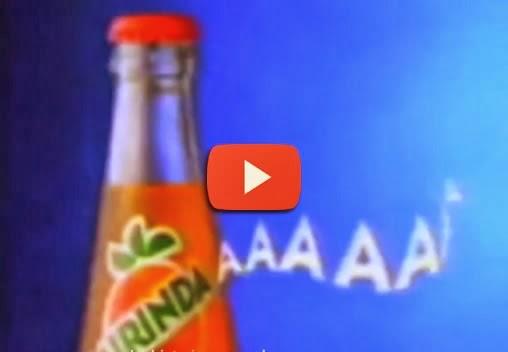 Propaganda do refrigerante Mirinda em 1994