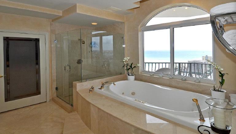 Construindo Minha Casa Clean Banheiras Modernas!!! Ótimas Inspirações! -> Mini Banheiro Com Banheira