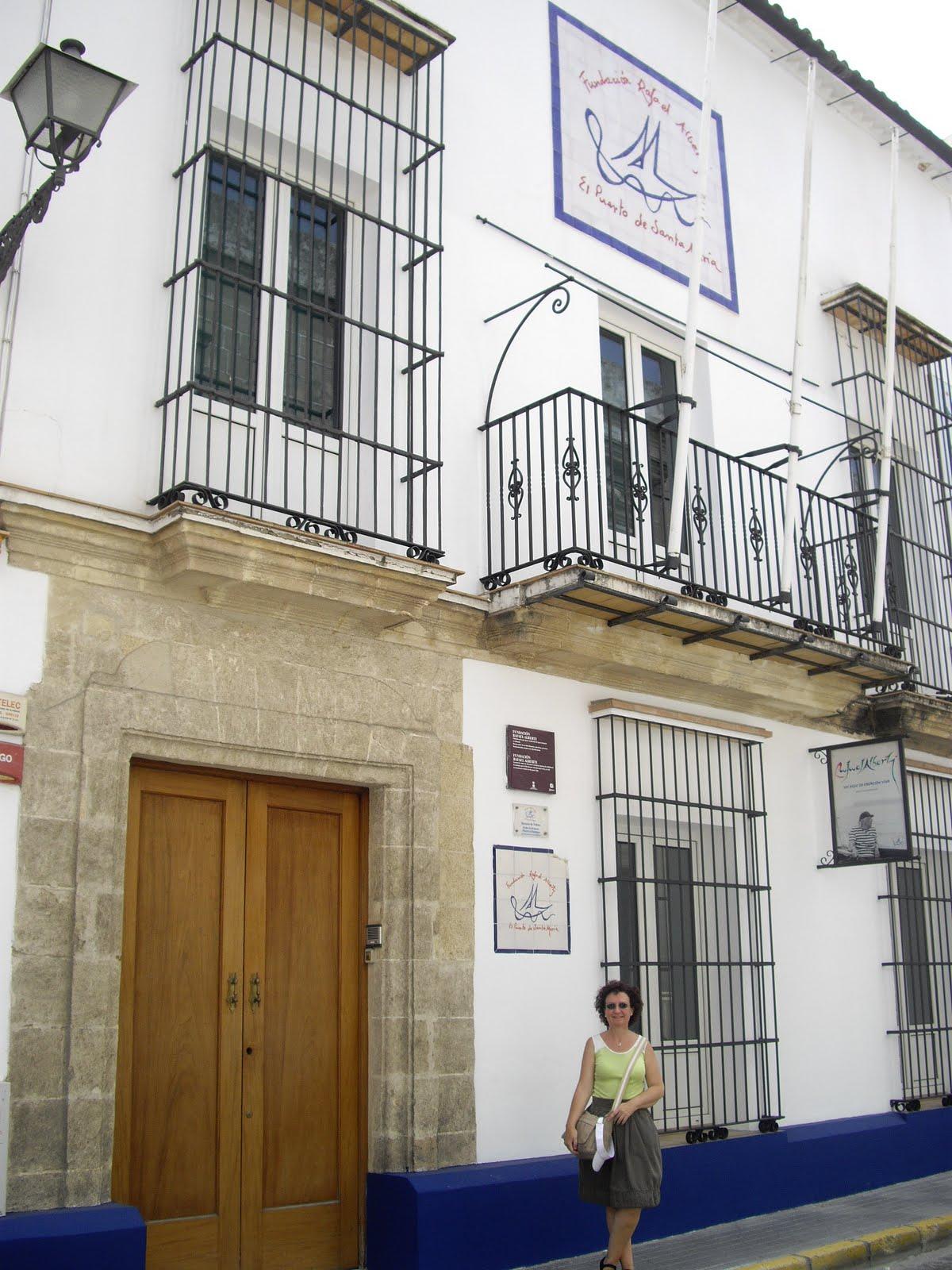 Roc o d az g mez la casa de alberti en el puerto de santa mar a de c diz - Casas en el puerto de santa maria ...