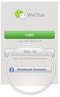 cara menghubungkan facebook dengan wechat