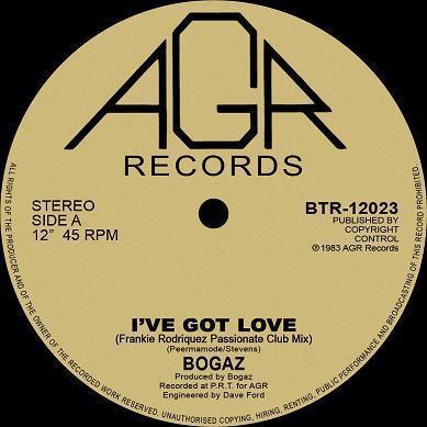 BOGAZ, I've got love 1983