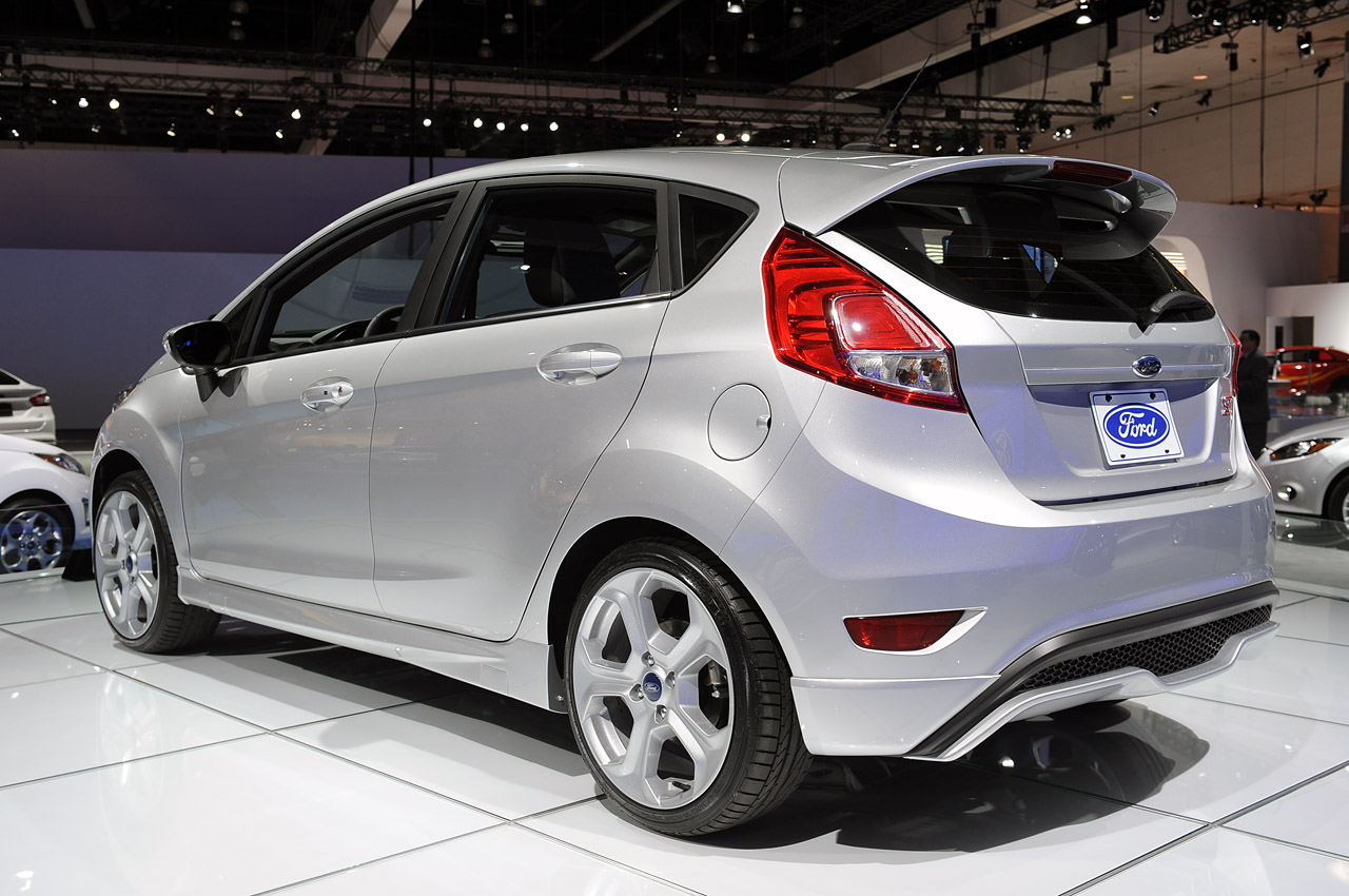 Ford picks fiesta st transit connect as this year s sema darlings