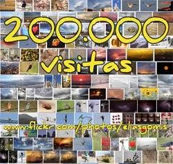 200.000 visitas, muchas más gracias a tod@s