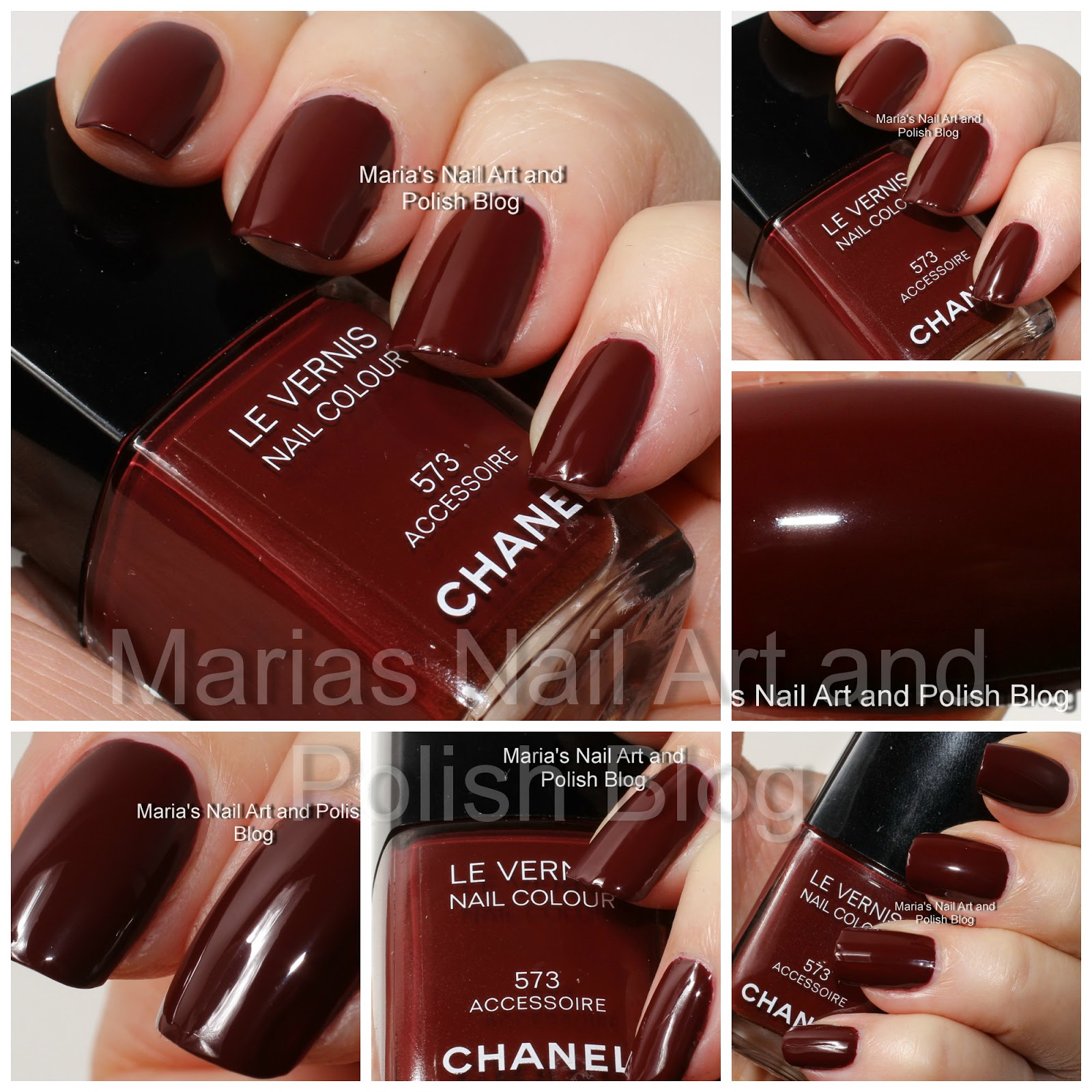Marias Nail Art And Polish Blog Flushed With Stripes And: Marias Nail Art And Polish Blog: Chanel Accessoire 573
