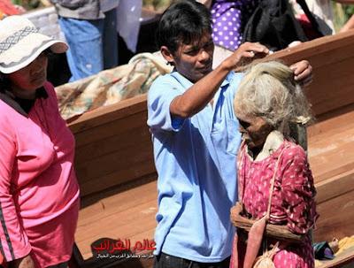 اخراج الجثث في اندونيسيا، ماننه، عالم العجائب