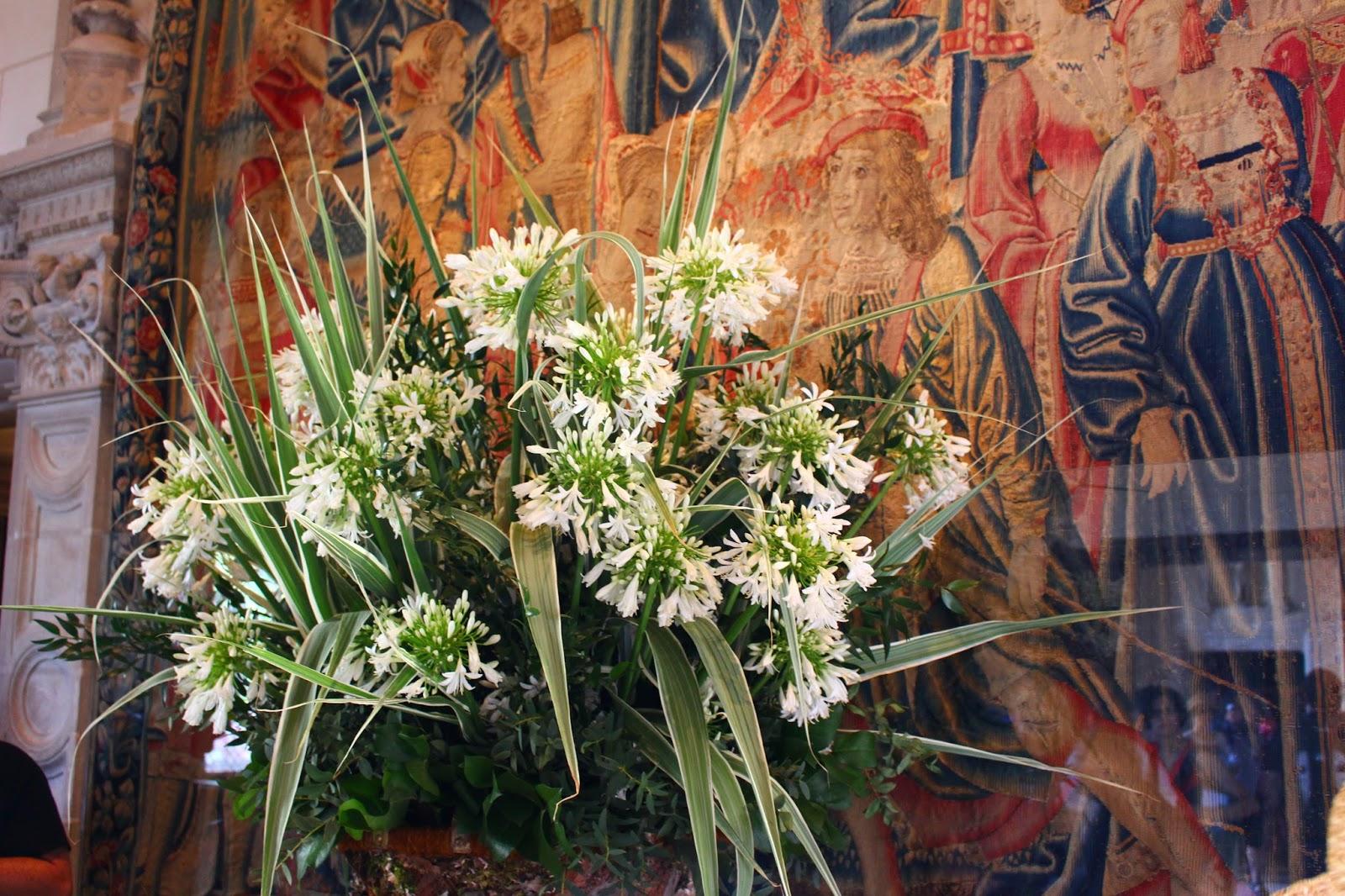 Roses du jardin ch neland un norme bouquet d 39 agapanthe - Enorme bouquet de fleurs ...
