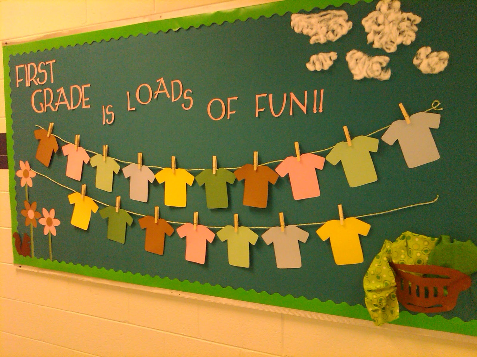 Classroom T Shirt Design ~ No worksheets necessary bulletin boards from previous years