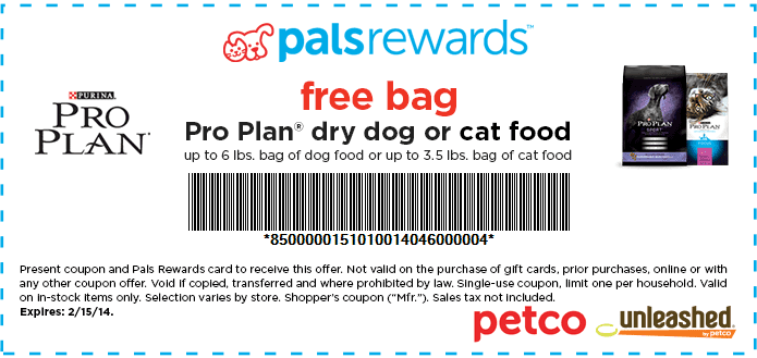 image regarding Purina Pro Plan Printable Coupons known as Purina specialist system printable coupon : Print Lower price