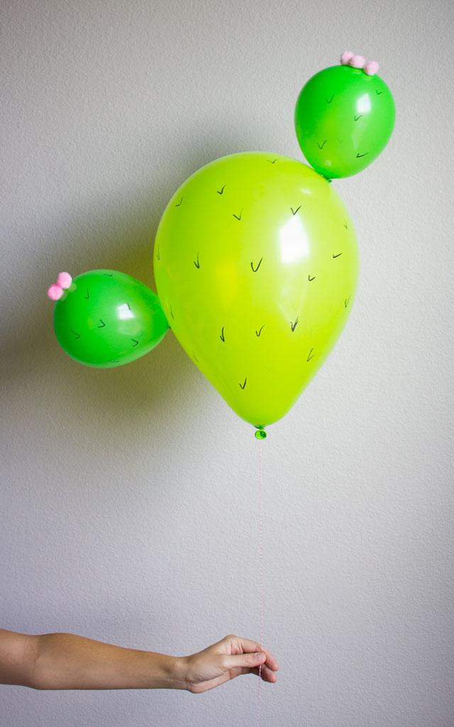 Cactus balloons!