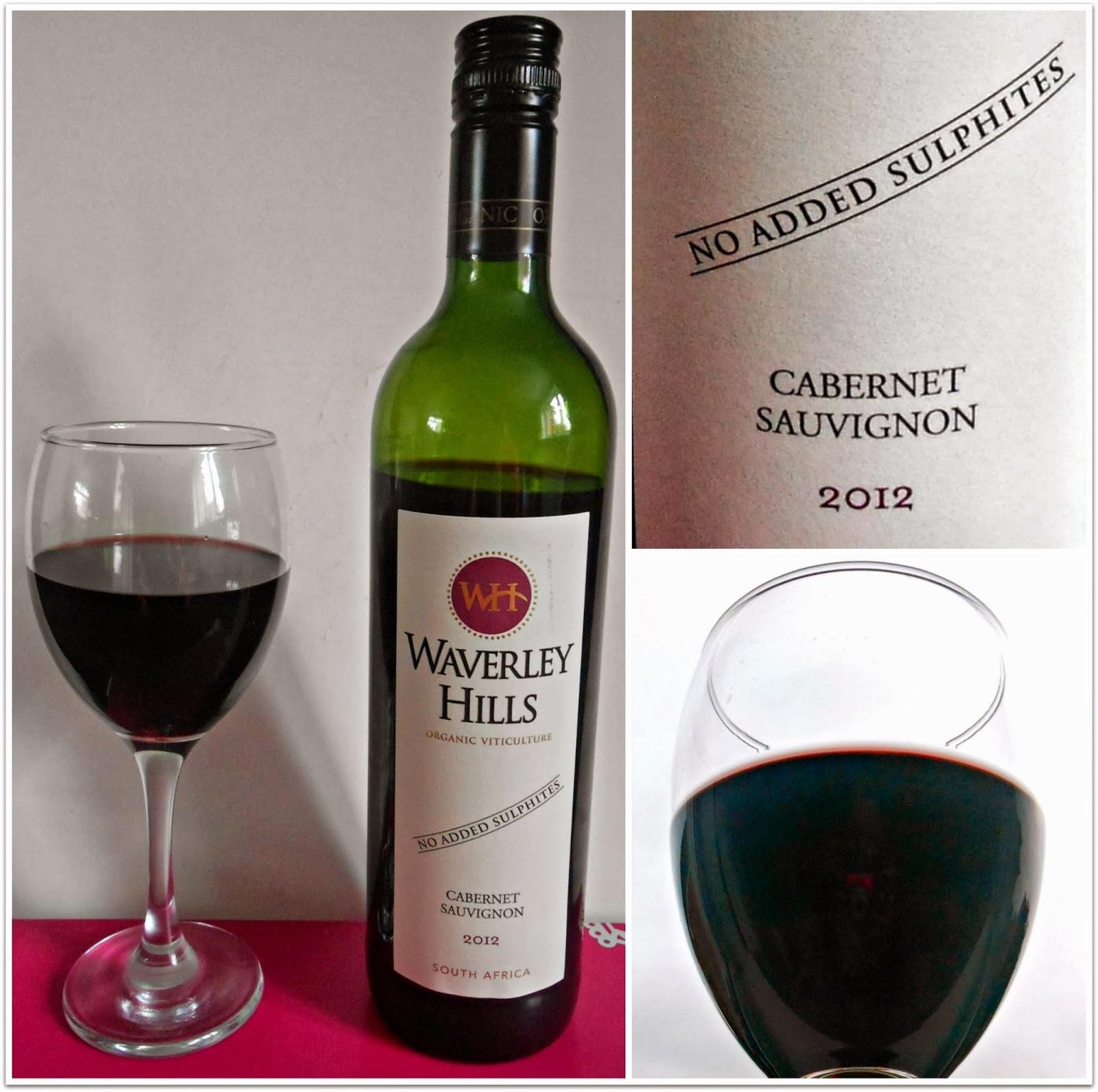 Waverley Hills Cabernet Sauvignon Organic Red Wine