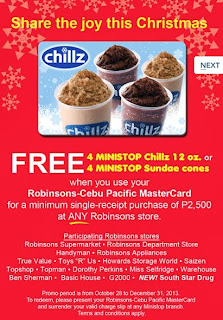 Promotion, Philippines promo, Metrobank Credit Card promotion