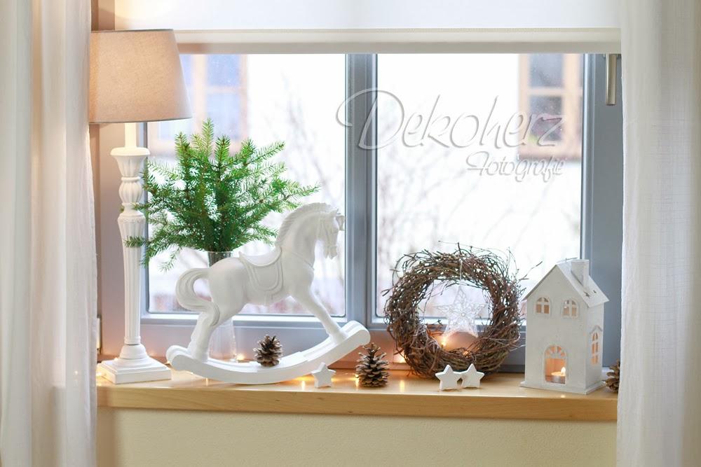 Dekoherz endlich wirds weihnachtlich im haus - Fenster weihnachtlich gestalten ...