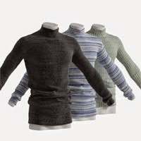 Realistic Knitted Sweater