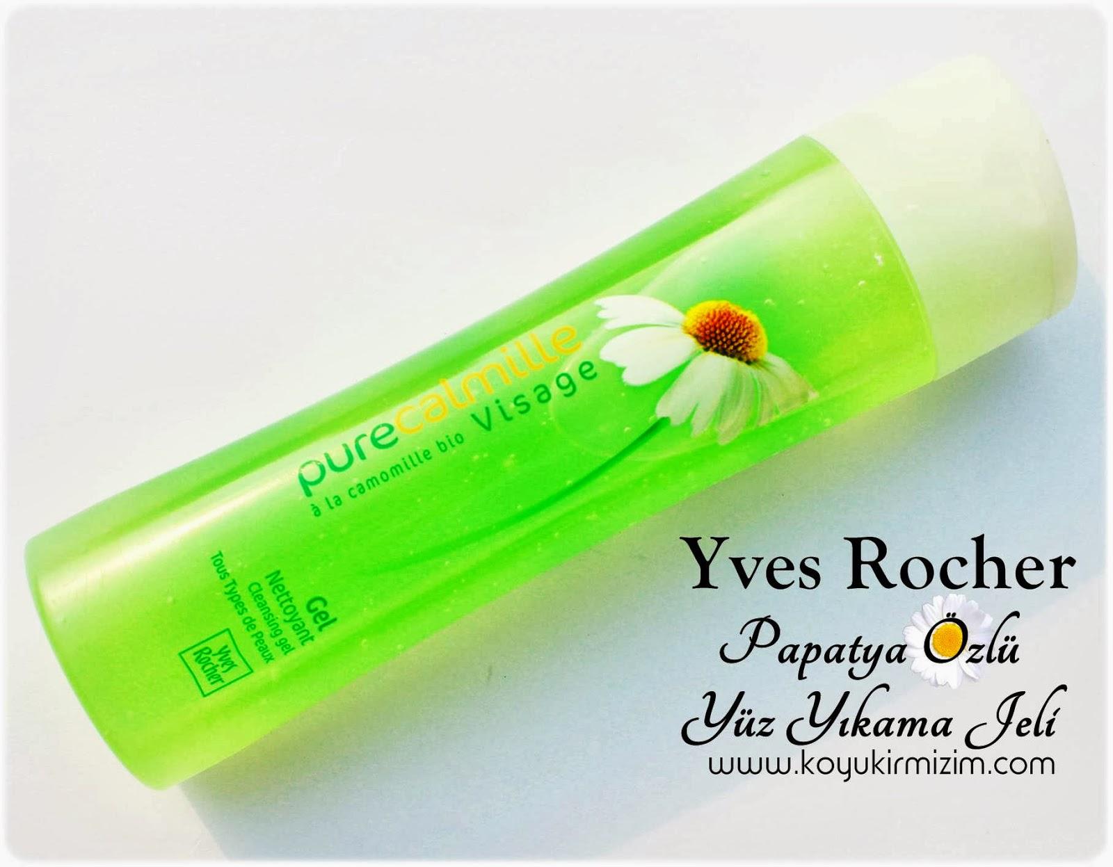 Yves Rocher Yumuşatıcı Yüz Yıkama Jeli