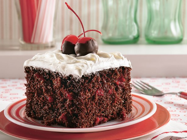 My Favorite Things: Super Simple Chocolate-Cherry Cola Cake