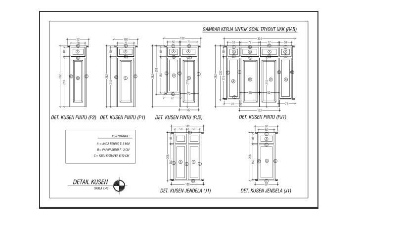 Catatan Teknik Arsitektur
