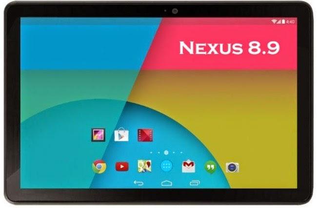 HTC Nexus 9, Tablet Terbaru Dengan Fitur Canggih