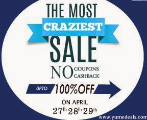 The Most Craziest Sale Upto 100% Off : Buy To Earn
