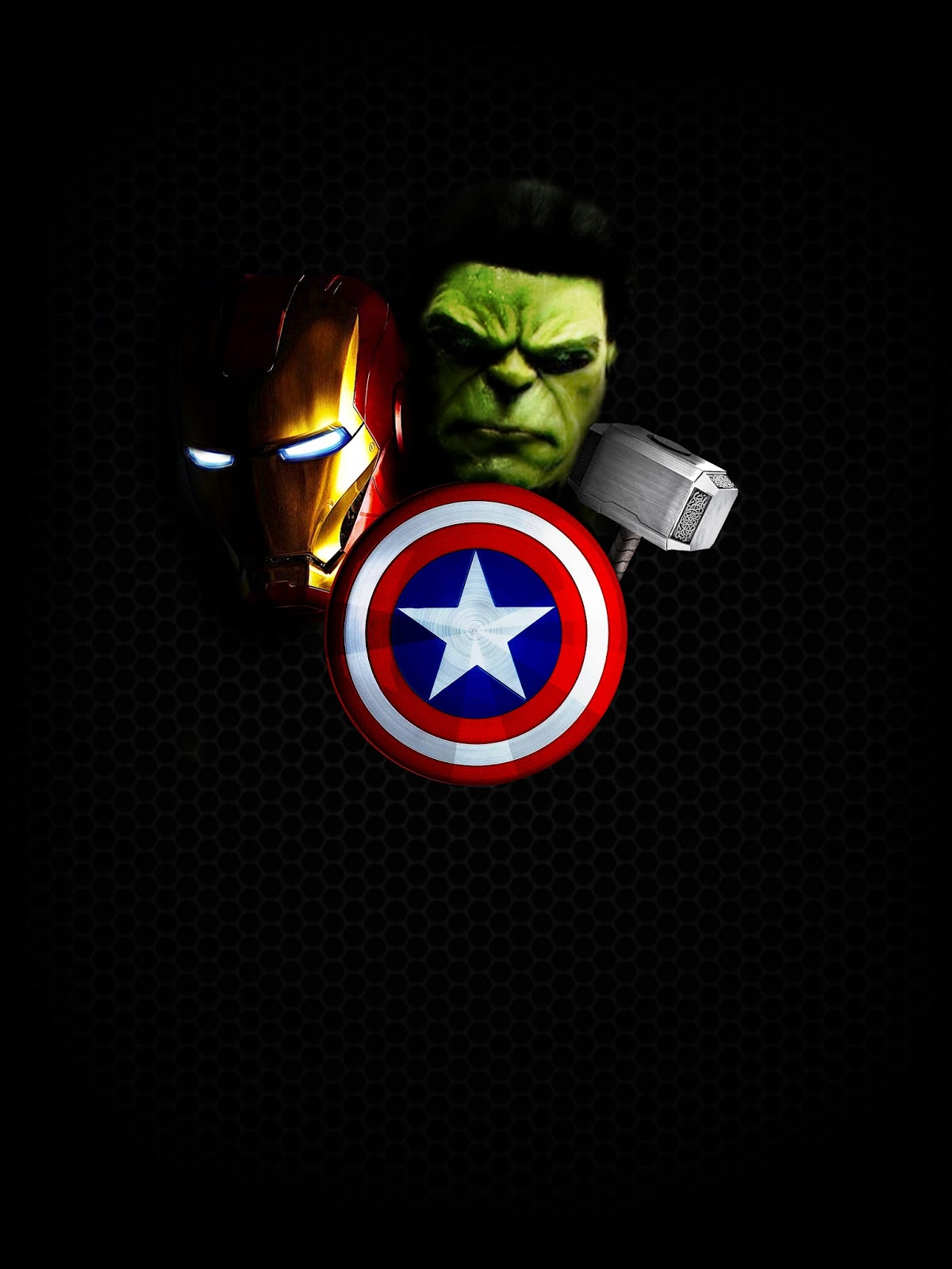 Avengers HD iPhone Wallpaper