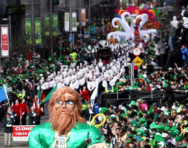 Saint-Patrick en Irlande