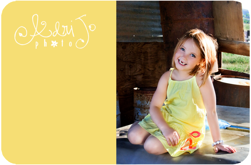 Two Four Pix...I turned Six! {Six Year Portraits}
