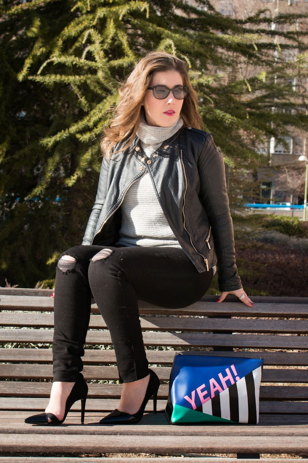 look, Esencia Trendy, ripped jeans, outfit, Asesora de Imagen, Personal Shopper, heels, beauty, luxe, Zara, Bershka, Ralph Lauren, Primark,