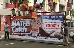 Signboard Baru Maths Catch