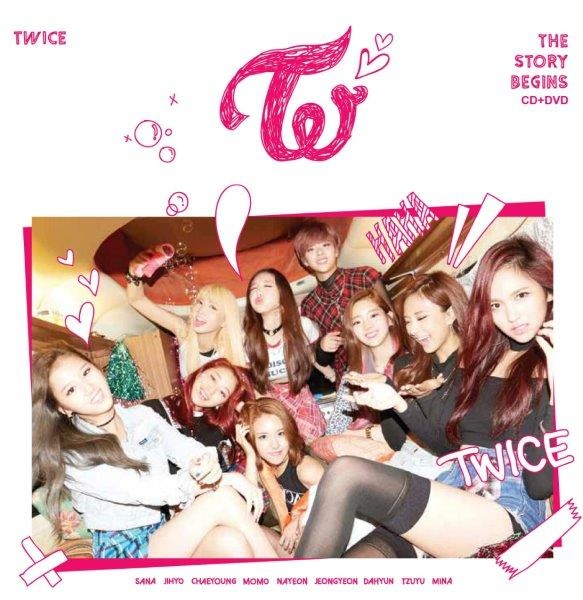 TWICE首張專輯【THE STORY BEGINS (CD+DVD)】預購 哪裡買 周子瑜