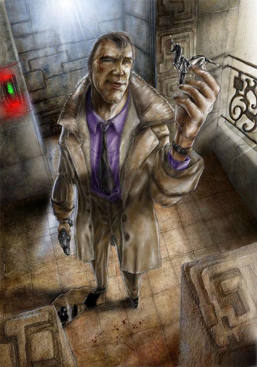 Deckard, the Blade Runner por antupainamku