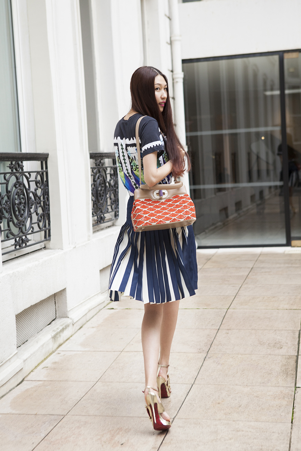 Li Hui, Chinese fashion blogger fan de BVLGARI
