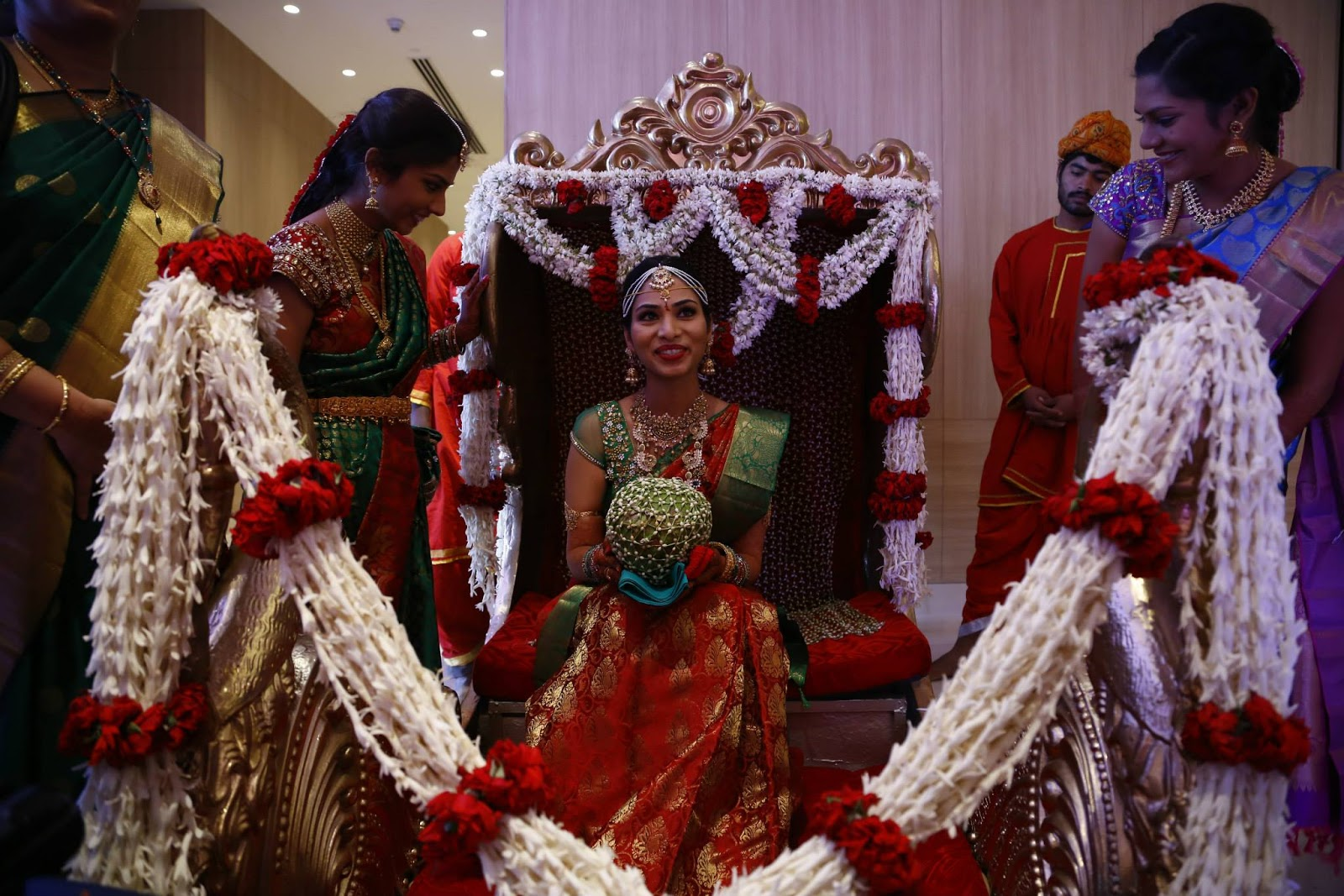 Indian marriages: The fifth day of ceremony - wedding