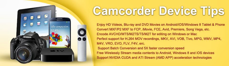 Tips for Devices and Camcorders