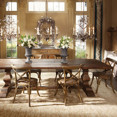 decor you adore a made to order farm table. Black Bedroom Furniture Sets. Home Design Ideas