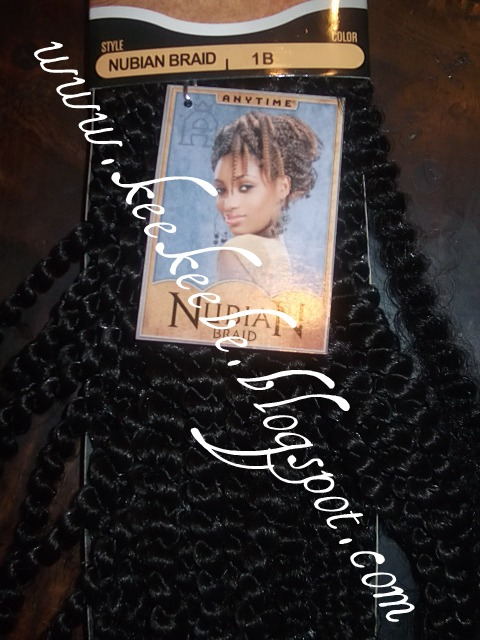 Eon Natural Nubian Silk Hair http://chichisophistication.blogspot.com/2011/05/protective-style-nubian-twist.html