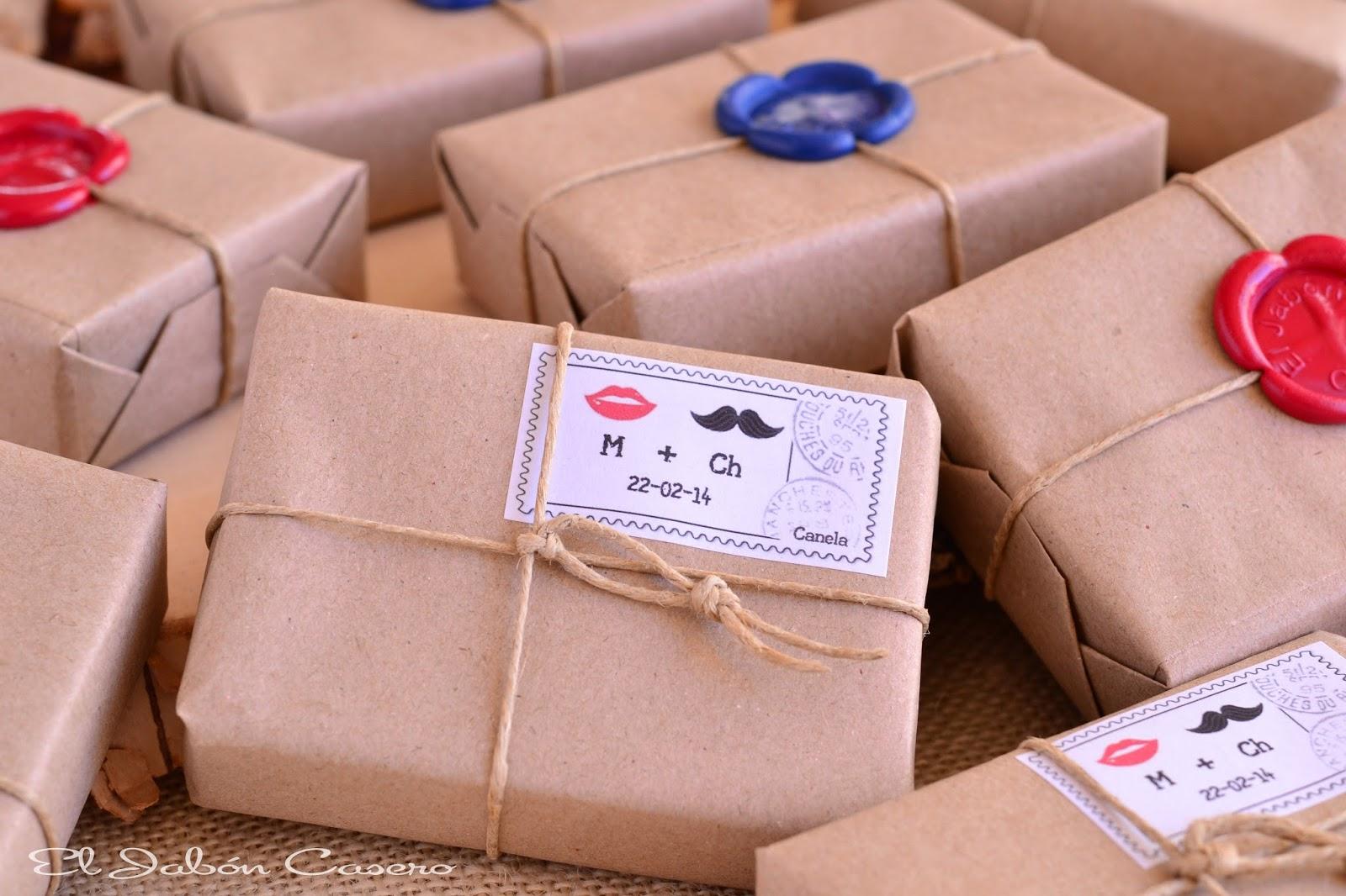 el jabon casero detalles de bodas naturales
