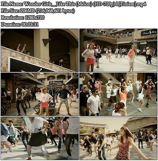 Download MV Wonder Girls (원더걸스) - Like This (Melon HD 720p)