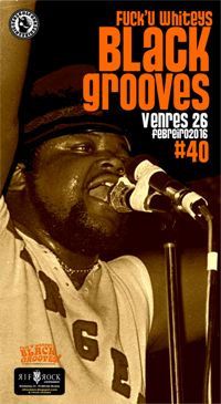 26 feb: Black Grooves!