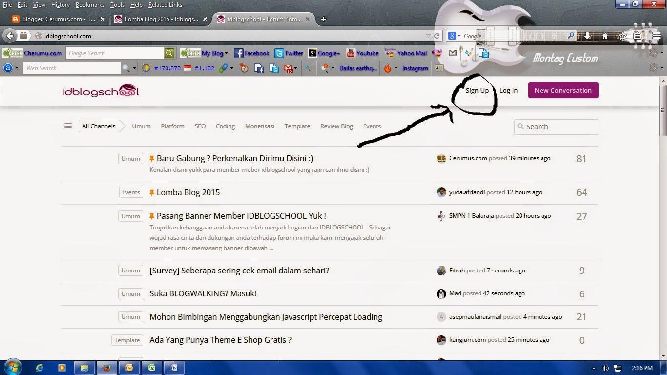 Kumpulan Blogger Indonesia