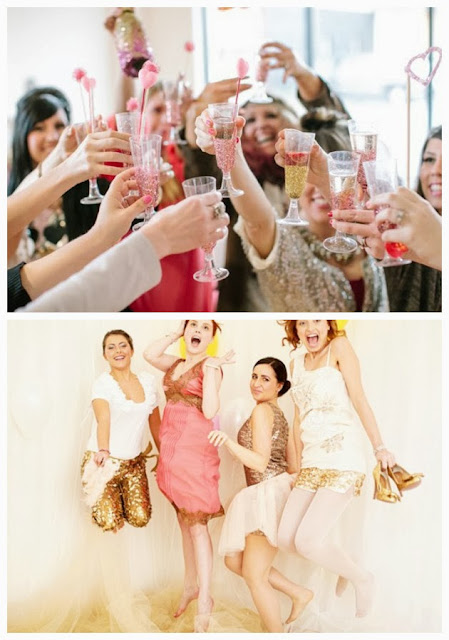 Glitter & Glam Hen Party Theme 03