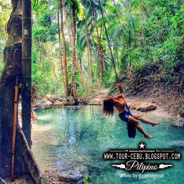 Binalayan Falls Samboan Falls Cebu