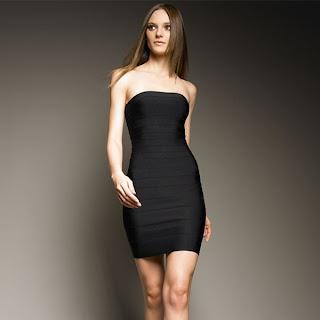 vestidos para festa estilo tomara que caia