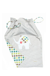 Ella & Otto Elephant Storage/Laundry Bag