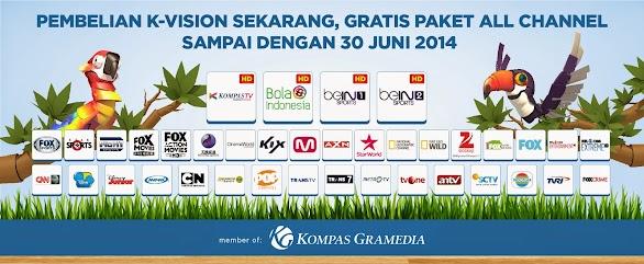Harga Promo Decoder K Vision Bulan Juni 2014