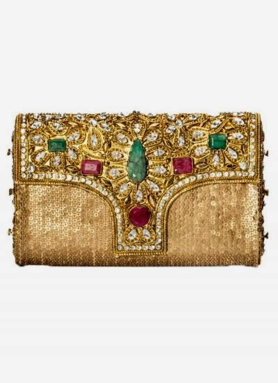 Anushka Clutch  | Indian Designers | Indian Designer Bag