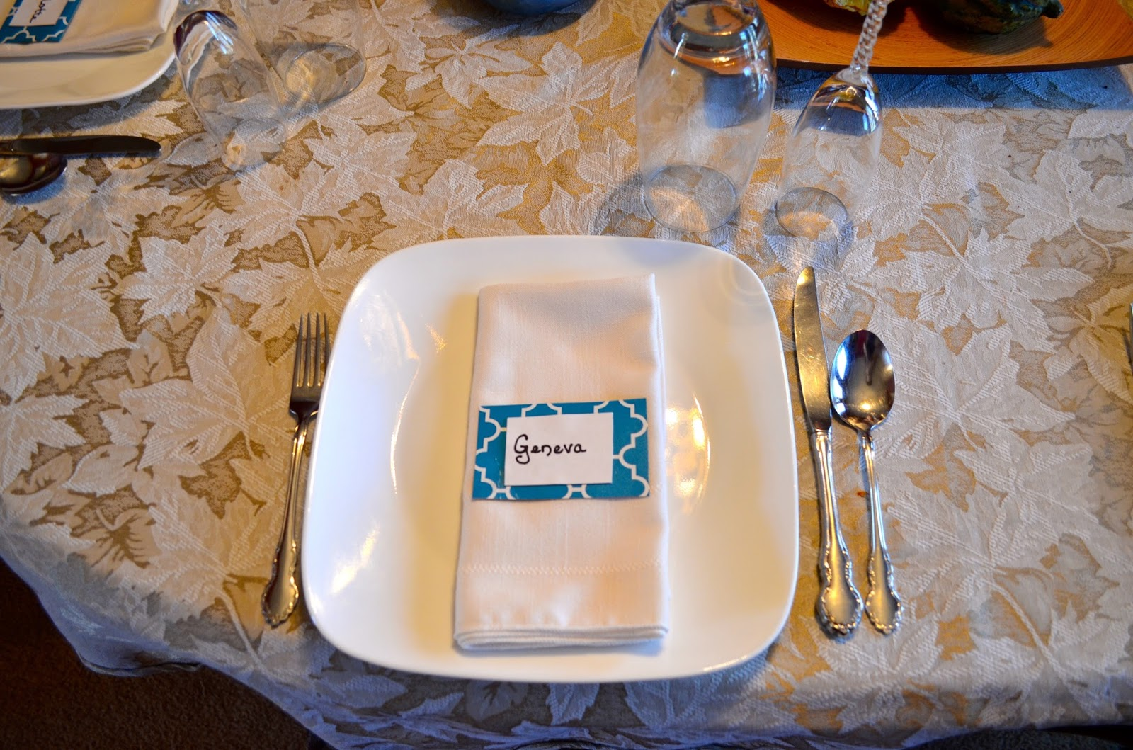 Brunch Place Settings