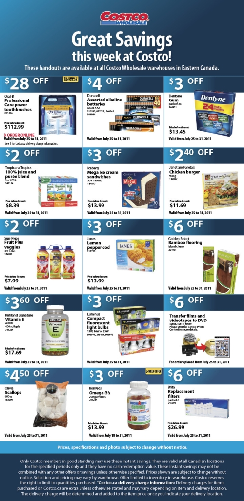 Costco monthly coupons