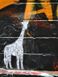 pasteup giraffe
